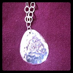 Hammered Sterling Silver Silpada necklace